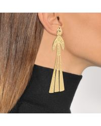 J.W. Anderson - Metallic Bird Earrings - Lyst