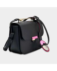 Furla - Black Elisir Mini Crossbody Bag - Lyst