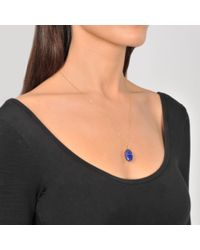 Aurelie Bidermann - Blue Scarab Pendant Medium Size - Lyst