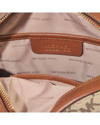 MICHAEL Michael Kors - Natural Ginny Medium Messenger Bag - Lyst