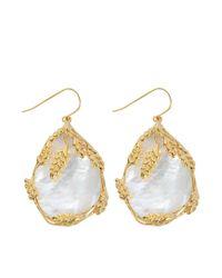 Aurelie Bidermann   Metallic Francoise Pendant Earrings   Lyst