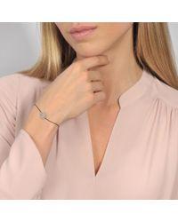 Vanessa Tugendhaft - Metallic Bracelet rose idylle - Lyst