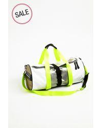 Monreal London - Yellow Warrior Bag White for Men - Lyst