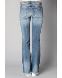 Acquaverde | Blue Flared Jeans | Lyst