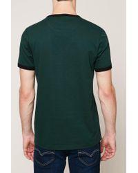 Farah - Green T-shirt for Men - Lyst