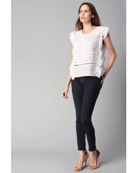 BCBGeneration | White Top | Lyst