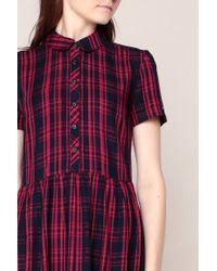 Hilfiger Denim - Blue Shirt Dress - Lyst