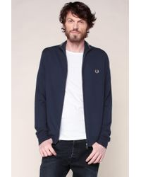 Fred Perry | Blue Sweater & Cardigan for Men | Lyst