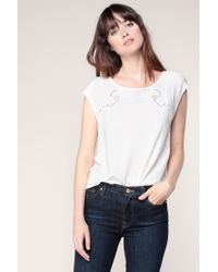 Vero Moda - White Top - Lyst