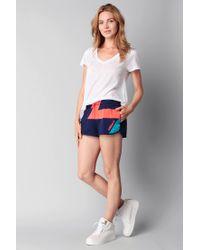 Adidas - Blue Short - Lyst