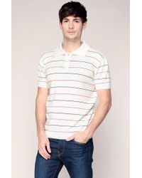 Le Mont St Michel | White Polo Shirt for Men | Lyst