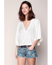 Free People | White Top | Lyst