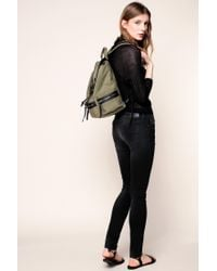 Pieces - Green Backpack - Lyst