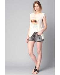 Volcom - White Top - Lyst