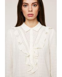 Ba&sh - White Embroidered Tunics - Lyst
