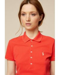 Polo Ralph Lauren - Red T-shirts & Polo Shirts - Lyst