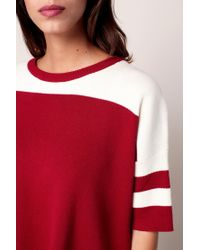 Numph - Red Jumper - Lyst
