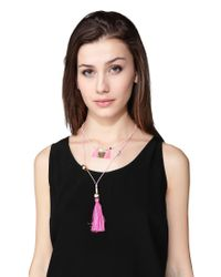 Hipanema - Pink Necklace / Longcollar - Lyst