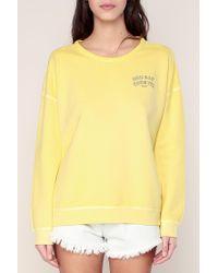 Maison Scotch - Yellow Sweatshirt - Lyst