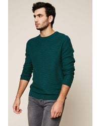 Le Mont St Michel - Green Sweater & Cardigan for Men - Lyst