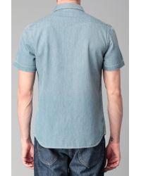 Lee Jeans - Blue Long Sve Shirt for Men - Lyst