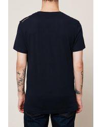 CALVIN KLEIN 205W39NYC - Blue Logo T-shirt for Men - Lyst