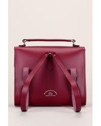 Cambridge Satchel Company - Red Leather Bag - Lyst
