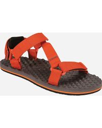 The North Face - Brown Base Camp Switchback Sandal for Men - Lyst