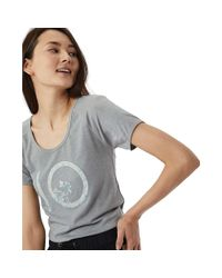 Tentree - Gray Stamp Ten T-shirt - Lyst