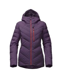 cb43ee510 Lyst - The North Face Corefire Down Jacket in Purple