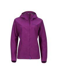 Marmot - Purple Minimalist Jacket - Lyst