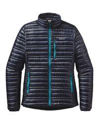 Patagonia - Blue Ultralight Down Jacket - Lyst