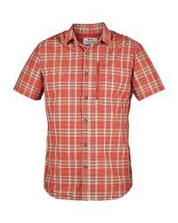 Fjallraven - Orange Abisko Hike Ss Shirt for Men - Lyst