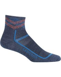 Icebreaker - Blue Multisport Mini Ultralight Sock for Men - Lyst