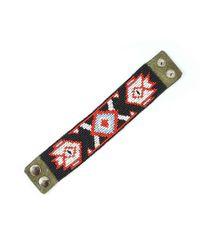Astis - Red Volga Bracelet - Lyst