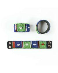 Astis - Green Finke Bracelet - Lyst