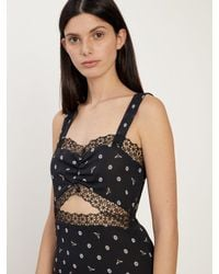 Morgan Lane - Black Joana Slip In Noir Bee Daisies - Lyst