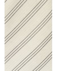 Hardy Amies - Multicolor Ecru Stripe Tie for Men - Lyst