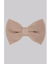 Moss London - Multicolor Stone Knitted Bow Tie for Men - Lyst