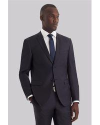 DKNY - Gray Slim Fit Slate Grey Suit for Men - Lyst
