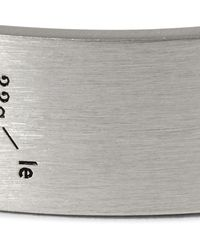 Le Gramme - Metallic Le 33 Brushed Sterling Silver Cuff for Men - Lyst