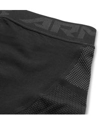 Under Armour - Black Seamless Heatgear Compression Tights for Men - Lyst