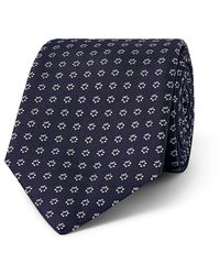 BOSS Blue 7.5cm Silk-blend Jacquard Tie for men