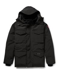 Canada Goose   Black Constable Shell Down Parka for Men   Lyst