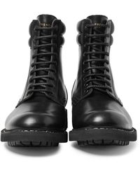 Givenchy | Black Tank Leather Boots for Men | Lyst