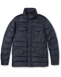 Moncler | Blue Zacarie Quilted Shell Down Jacket for Men | Lyst