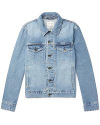 Rag & Bone - Blue Definitive Slim-fit Denim Jacket for Men - Lyst