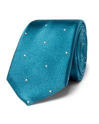 Paul Smith | Blue Polka-dot Silk Tie for Men | Lyst