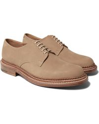 GRENSON | Multicolor Curt Triple-welted Nubuck Derby Shoes for Men | Lyst