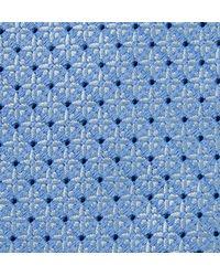 Charvet - Blue 8.5cm Floral Silk-jacquard Tie for Men - Lyst